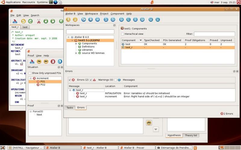 Screenshot - Linux
